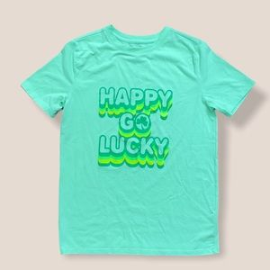 cat and jack happy go lucky t shirt size XL
